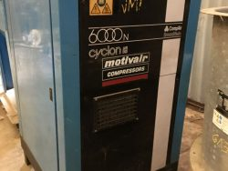 S/H-MIS052 MOTIVE AIR COMPRESSOR MOD 6050NO7A 7.5BAR 6.3 cuM/3 PER HR