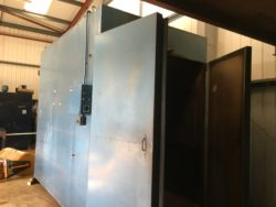 S/H-OVN001 HEDINAIR GAS OVEN INT DIMS 1800X3000X2400  TOP/SHOP
