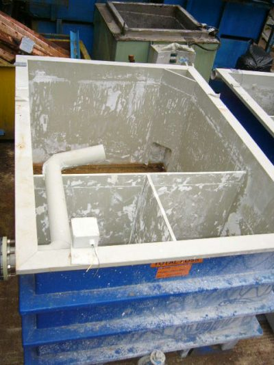 S/H-ST-T002-EF 2200X1550X1280 P/P SECTIONAL EFFLUENT TANK  I